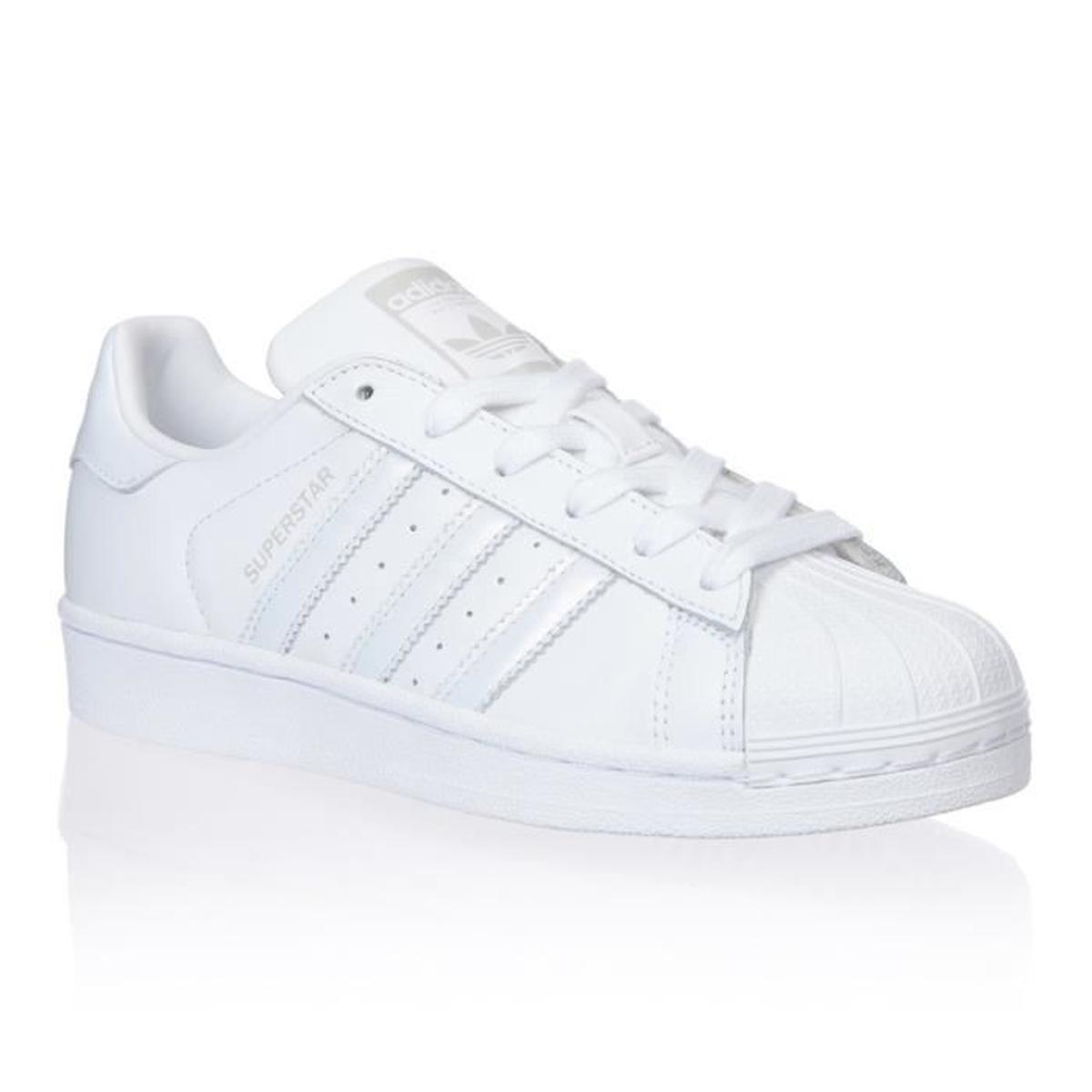 chaussure adidas superstar blanche
